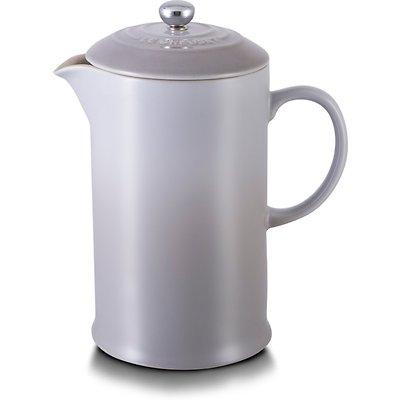 Le Creuset - Zaparzacz do kawy ze stalowym tłokiem, szary