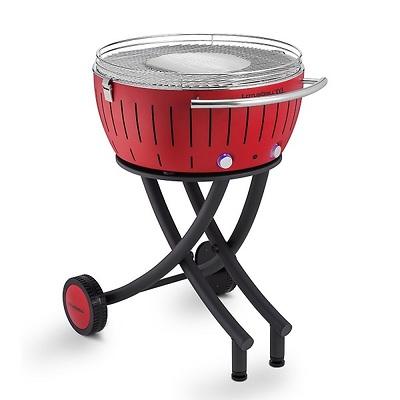 LotusGrill - Grill węglowy XXL Czerwony