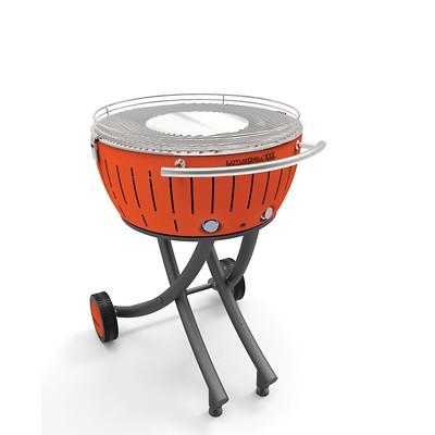 LotusGrill - Grill węglowy XXL Pomarańczowy
