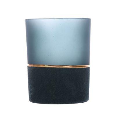 MilooHome - Ciemnozielony świecznik