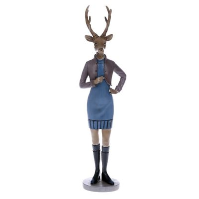 MilooHome - Figurka Pani Jeleń