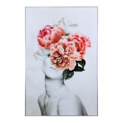 MilooHome - Flower Elegance reprodukcja na szkle