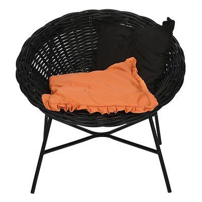 MilooHome - Fotel Eve z dwiema poduszkami