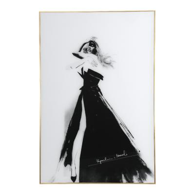 MilooHome - Paprocki&Brzozowski Fashion Sketch IV obraz ścienny