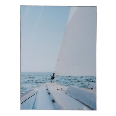 MilooHome - Reprodukcja na szkle Sea Hamptons Yacht
