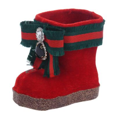 MilooHome - Zawieszka British czerwony bucik