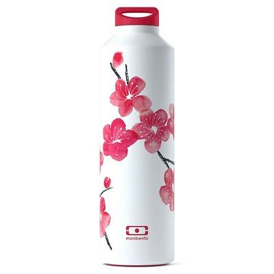 Monbento - Butelka termiczna Steel Graphic Blossom