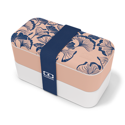 Monbento - Lunchbox Bento Original Graphic Ginkgo