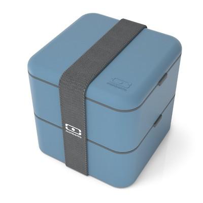 Monbento - Lunchbox Bento Square, Blue Denim