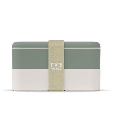 Monbento - MB - Lunchbox Bento Original, Natural green