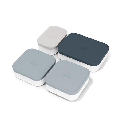 Monbento - Zestaw 4 pojemników do lunchboxów Extra