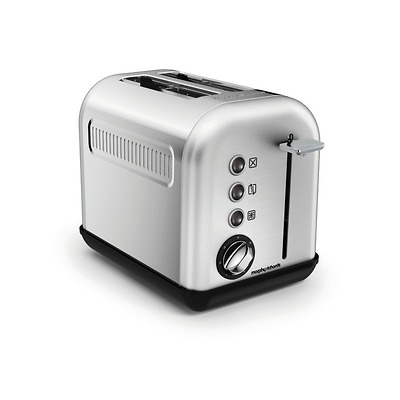 Morphy Richards - Accents Brushed Toster na 2 kromki