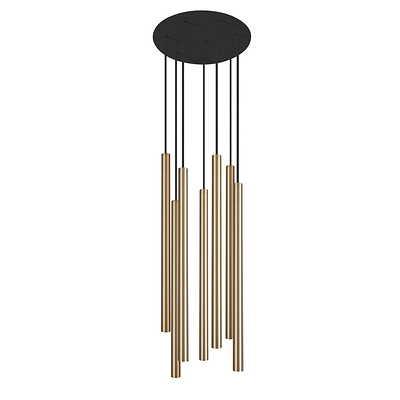 Nowodvorski Lighting - Laser Solid Brass VII Lampa wisząca