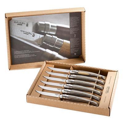 Opinel - Lamellate Zestaw 6 noży stołowych w pudełku