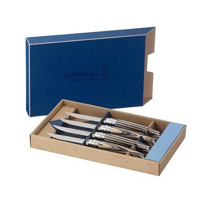 Opinel - Table Chick Zestaw 4 noży stołowych, brzoza