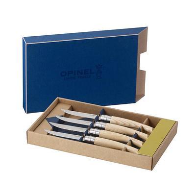 Opinel - Table Chick Zestaw 4 noży stołowych, jesion