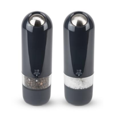 Peugeot - Alaska Zestaw młynków elektrycznych do soli i pieprzu czarny