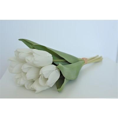 PremiumFlowers - Bukiet białych tulipanów