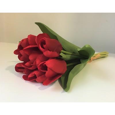 PremiumFlowers - Bukiet czerwonych tulipanów