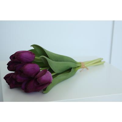 PremiumFlowers - Bukiet fioletowych tulipanów
