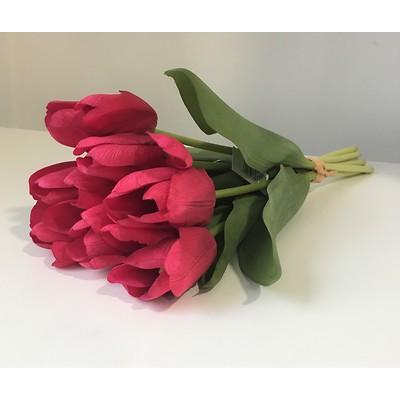PremiumFlowers - Bukiet różowych tulipanów