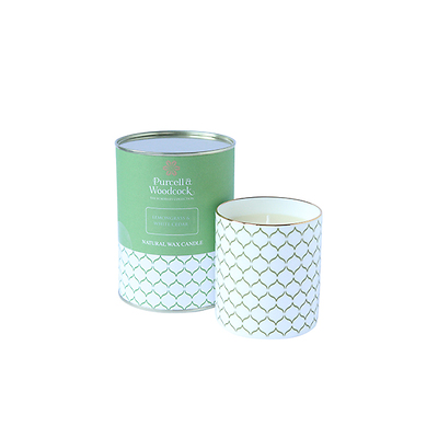 Purcell & Woodcock -  Lemongrass & White Cedar Świeca zapachowa