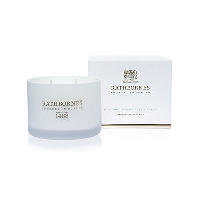 Rathbornes - Classic Mint & Thyme Świeca zapachowa naturalna