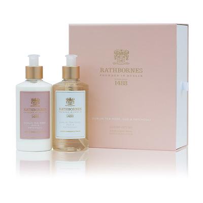 Rathbornes - Luxury Dublin Tea Rose Wash & Lotion Zestaw kosmetyków