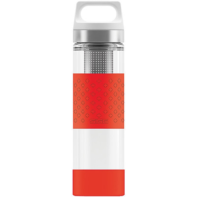 SIGG - TERMOS SZKLANY HOT & COLD RED