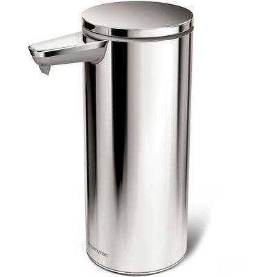 simplehuman - Dozownik bezdotykowy na mydło srebrny