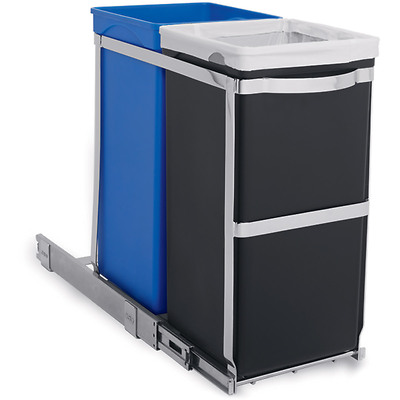 simplehuman - Pull Out Recycler Kosz na śmieci 35 l