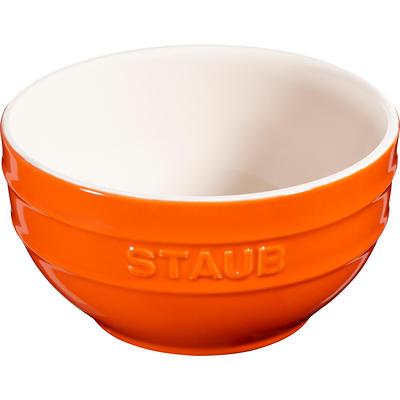 Staub - ceramiczna miska, pomarańczowa