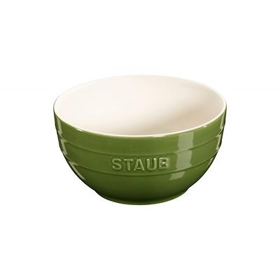 Staub - ceramiczna miska, zielona