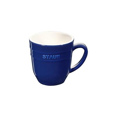 Staub - ceramiczny kubek, niebieski