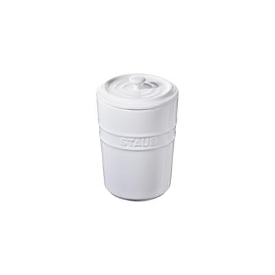 Staub -pojemnik do przechowywania, biały