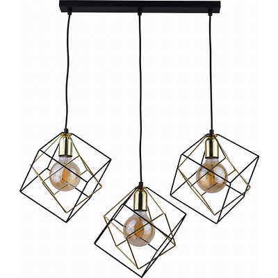 Tk Lighting - Alambre 3 pł Lampa wisząca