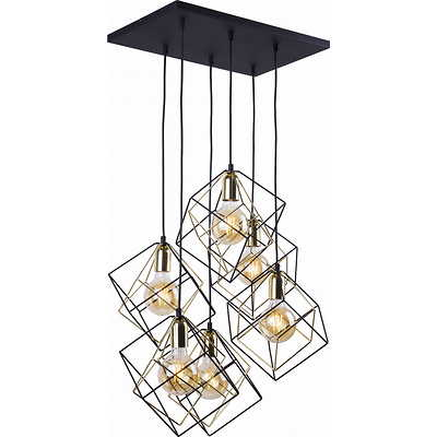 Tk Lighting - Alambre 6 pł Lampa wisząca