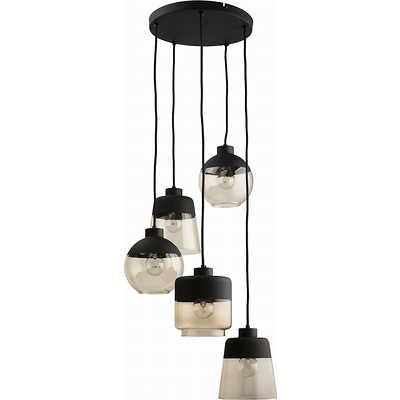 Tk Lighting - Amber 5 pł Lampa wisząca