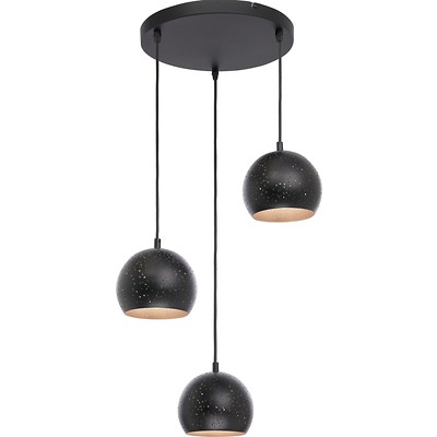 Tk Lighting - Brillo Black Lampa wisząca