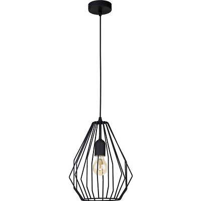 Tk Lighting - Brylant Black Lampa wisząca