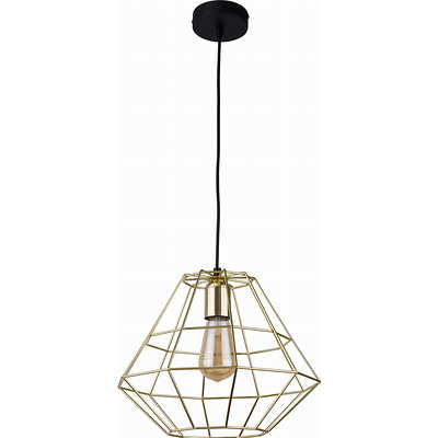 Tk Lighting - Diamond Gold Lampa wisząca
