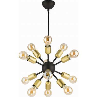 Tk Lighting - Estrella Black Lampa wisząca