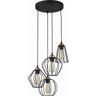Tk Lighting - Galaxy Lampa wisząca 4 pł