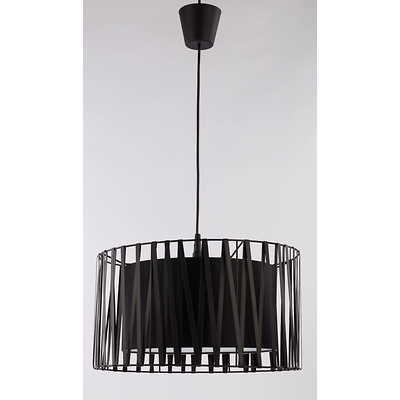 Tk Lighting - Harmony Black Lampa wisząca