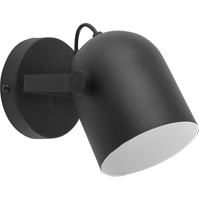 Tk Lighting - Spectra Black Kinkiet