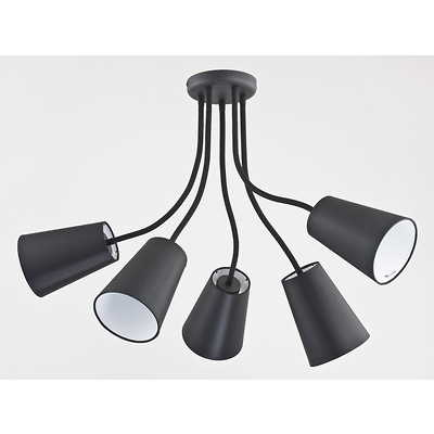 Tk Lighting - Wire Black Lampa wisząca
