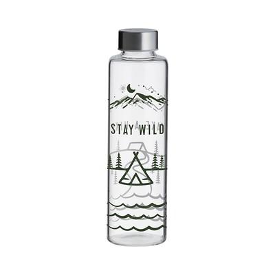 Typhoon - Stay Wild Pure Butelka szklana na wodę