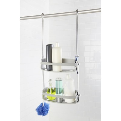 UMBRA -Flex Shower Caddy Półka pod prysznic szara