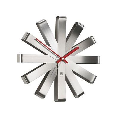 Umbra - Ribbon Zegar ścienny, stalowy