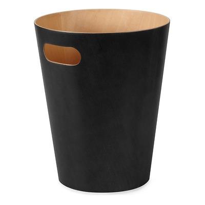 Umbra - Woodrow Kosz na śmieci drewniany czarny
